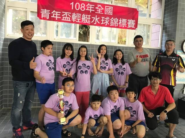 108年全國青年盃輕艇水球錦標賽